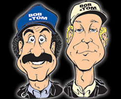 Bob & Tom caricatures