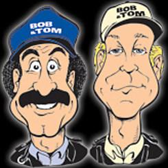 Bob & Tom caricatures