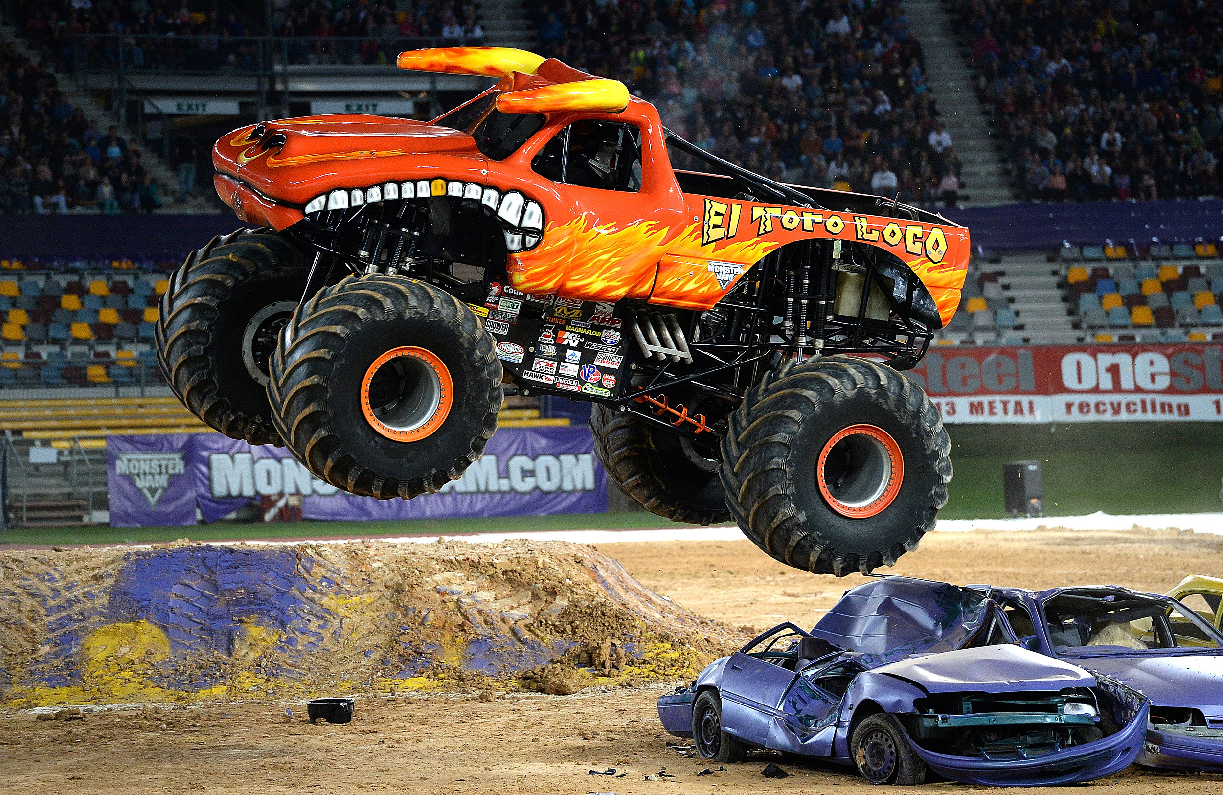 Monster Jam Comes To Dairy Queen In Henderson Today