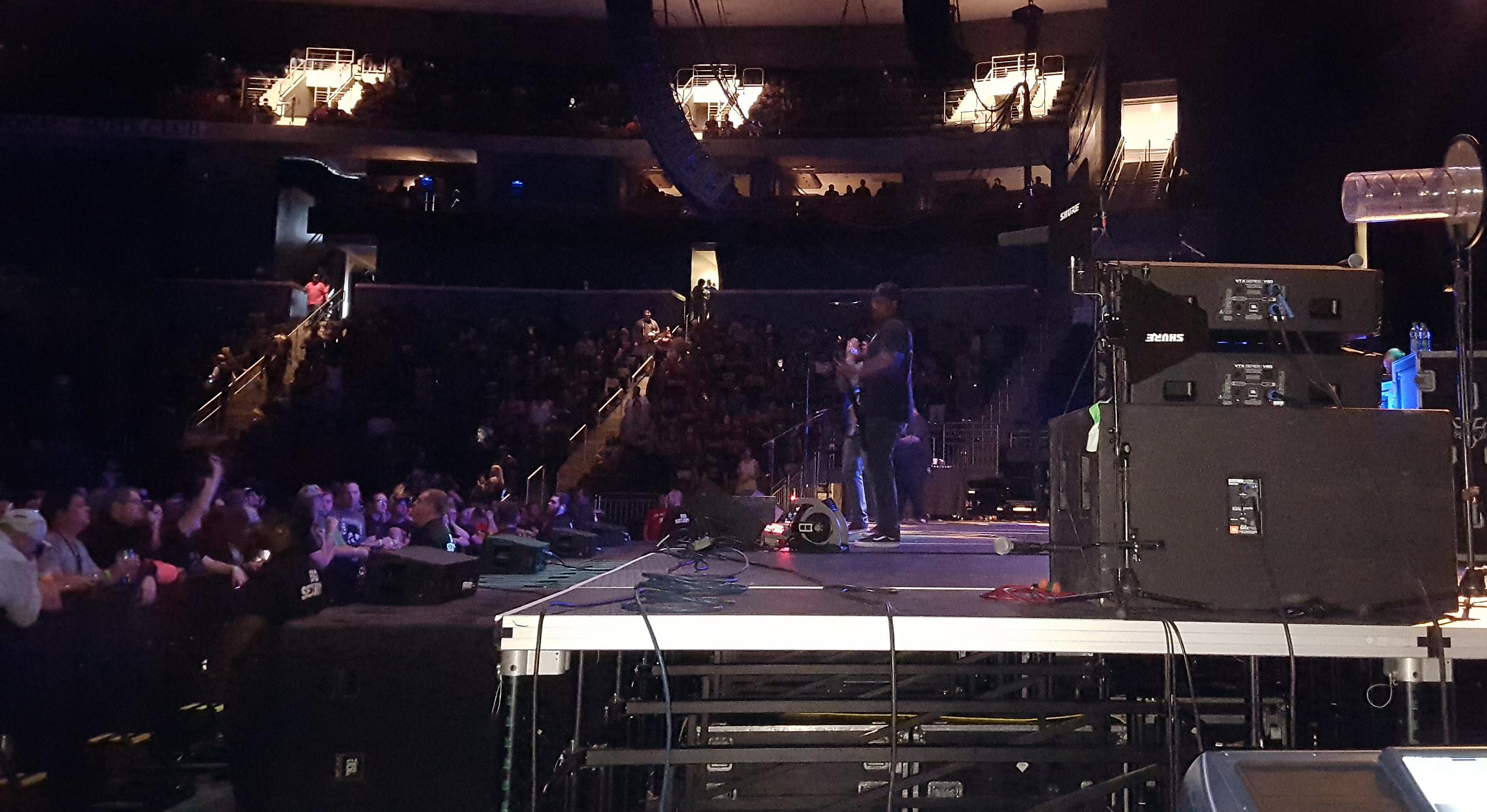 POD on stage